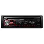 Radio CD auto PIONEER DEH-4800BT, 4x50W, USB, Bluetooth, iluminare rosu-alb