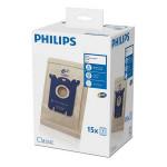 Set 15 saci de aspirator PHILIPS S-Bag FC8019/03