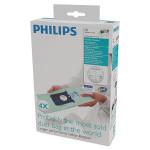 Set 4 saci de aspirator PHILIPS Anti-Alergii FC8022/04