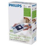 Set 4 saci de aspirator PHILIPS Anti-Miros FC8023/04
