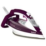 Fier de calcat TEFAL AquaSpeed Precision FV5545, 180g/min, 2600W, alb - mov