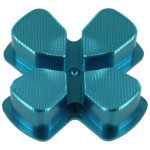 Protectie butoane PS4 - Zedlabz Alloy Metal Directional D Pad, blue