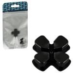 Protectie butoane PS4 - Zedlabz Alloy Metal Directional D Pad, grey