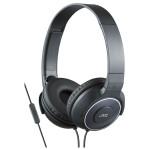 Casti on-ear cu microfon JVC HA-SR225-B-E, negru