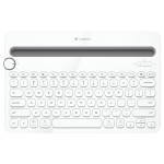 Tastatura Bluetooth LOGITECH K480 Multi-Device, alb