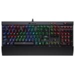 Tastatura gaming mecanica CORSAIR K65 Lux - Cherry MX Black NA, negru
