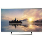 Televizor LED Smart Ultra HD, 123cm, 4K HDR, Argintiu, SONY KD49XE7077SAEP