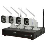 Kit supraveghere video PNI WF400, 4 camere Wi-Fi