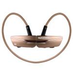 Casti Bluetooth PROMATE Match, Bronze