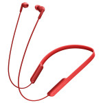 Casti in-ear cu microfon Sony MDR-XB70BTR, Wireless, Bluetooth, NFC, EXTRA BASS, Rosu