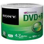 DVD+R SONY 50DPR47SB, 16x, 4.7GB, 50buc - Bulk