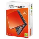 Consola Nintendo New 3DS XL, 4.88 / 4.18 inch, orange negru
