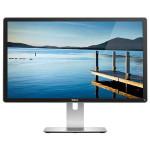 "Monitor LED IPS DELL P2415Q, 23.8"", Ultra HD 4K, negru-gri"