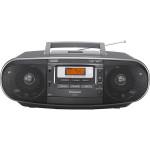 Radio CD portabil PANASONIC RX-D55AEG-K, 20W, FM/AM, negru