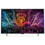 Televizor LED Smart Ultra HD, 139cm, PHILIPS 55PUH6101/88