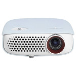 Videoproiector LG Minibeam TV PW800, WXGA, alb-albastru