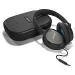 Casti on-ear cu microfon BOSE Quiet Comfort 25, Apple/Android, negru