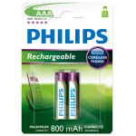 Acumulatori reincarcabili PHILIPS MultiLife R03B2A80/10, AAA, NiMH, 2 bucati