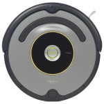 Robot pentru curatenie iRobot Roomba 616, 2h, negru-gri