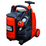 Compresor BLACK & DECKER BD 195/5-MY-T, fara ulei, 5 litri, 1.5 CP, 8 Bar