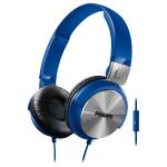 Casti on-ear cu microfon PHILIPS SHL3160BL/00, albastru