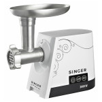 Masina de tocat carne cu Slow Juicer SINGER SMG-2000, 2000W, control digital