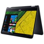 "Laptop 2 in 1 ACER Spin SP714-51-M2Z7, Intel® Core™ i7-7Y75 pana la 3.6GHz, 14"" IPS Full HD, 8GB, SSD 256GB, Intel® HD Graphics 615, Windows 10 Pro"