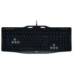 Tastatura gaming iluminata LOGITECH G105, USB, negru