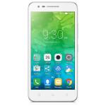 """Smartphone Dual Sim LENOVO Vibe C2, 5"""", 8MP, 1GB RAM, 8GB, Quad-Core, 4G, White"""