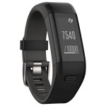 Bratara Fitness GARMIN Vivosmart HR+, GPS, Black