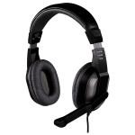 Casti PC HAMA Offbeat 53983, 3.5 mm, negru-gri