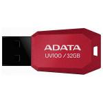 Memorie portabila ADATA UV100, 32GB, rosu