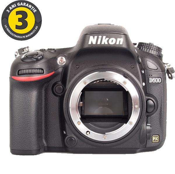 Camera foto digitala NIKON D600 247 Mp 32 inch negru