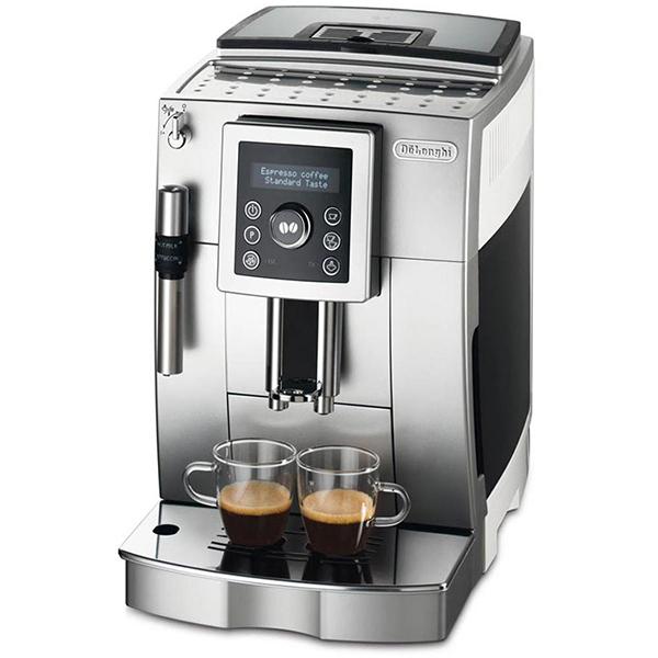 Espressor automat DE LONGHI ECAM 23420SW 18l 1450W albargintiu