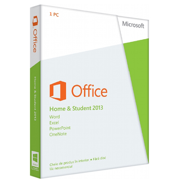 Microsoft Office Home and Student 2013 32bitx64 Romanian