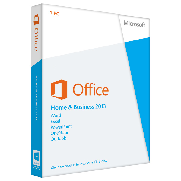 Microsoft Office Home and Business 2013 32bitx64 Romanian
