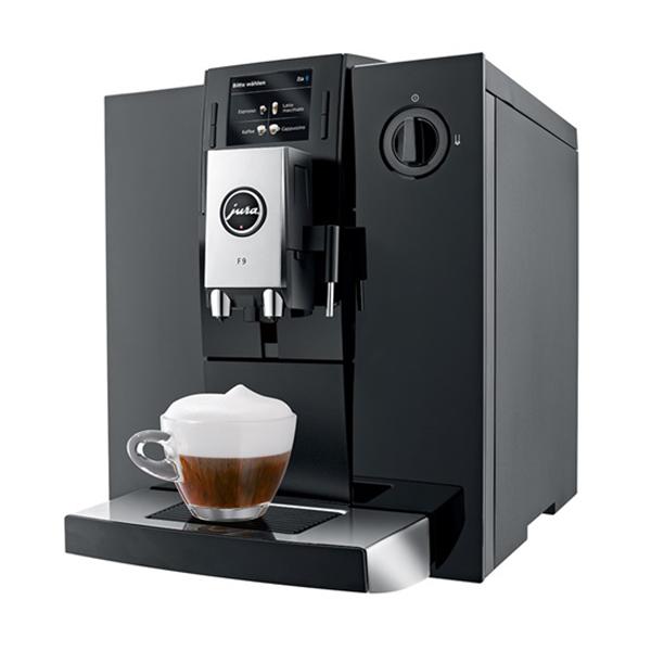 Espressor automat JURA F9 15127 tehnologie PEP 15 bari 19 l negruargintiu