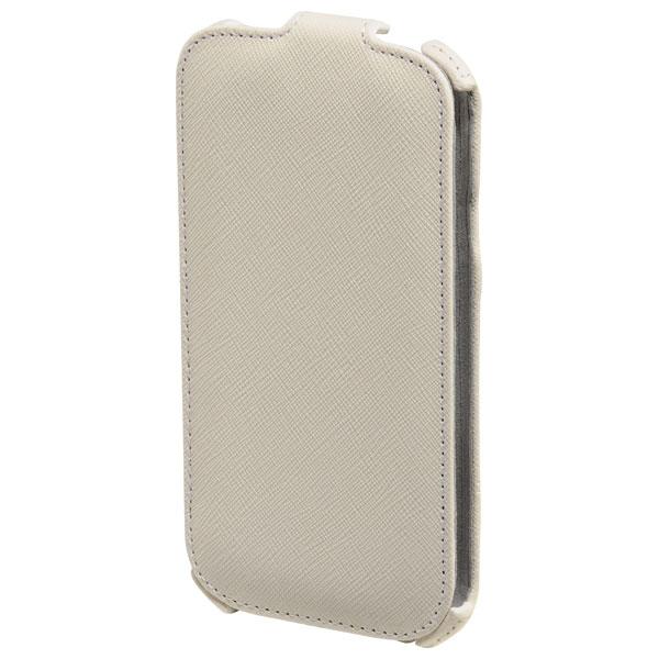 Husa Flip Cover pentru Samsung Galaxy S5 HAMA Flap Case 124666 White