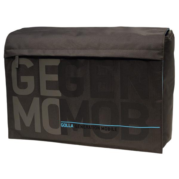 Geanta laptop GOLLA Zac 16 textil maro