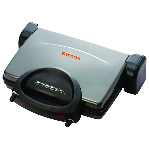 Grill electric VORTEX VSM026 1800W argintiu  negru