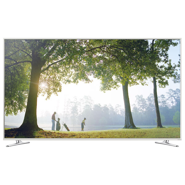 Televizor LED Smart Full HD 3D 121 cm SAMSUNG UE48H6410 alb