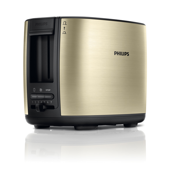 Prajitor de paine PHILIPS HD262850 950W sampanie