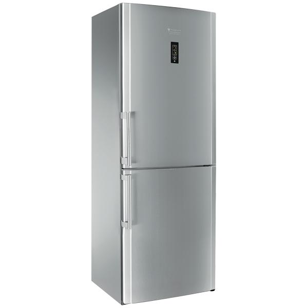 Combina frigorifica No Frost HOTPOINT ENBYH 19323 FW O3 449 l 185 cm A inox