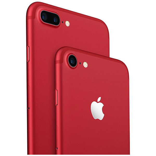 telefon apple iphone 7 plus 128gb red special edition. Black Bedroom Furniture Sets. Home Design Ideas