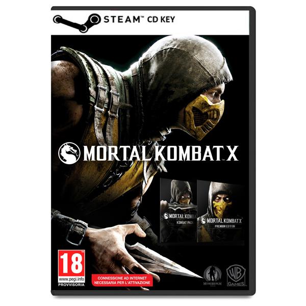 mortal kombat x premium edition cd key cod steam