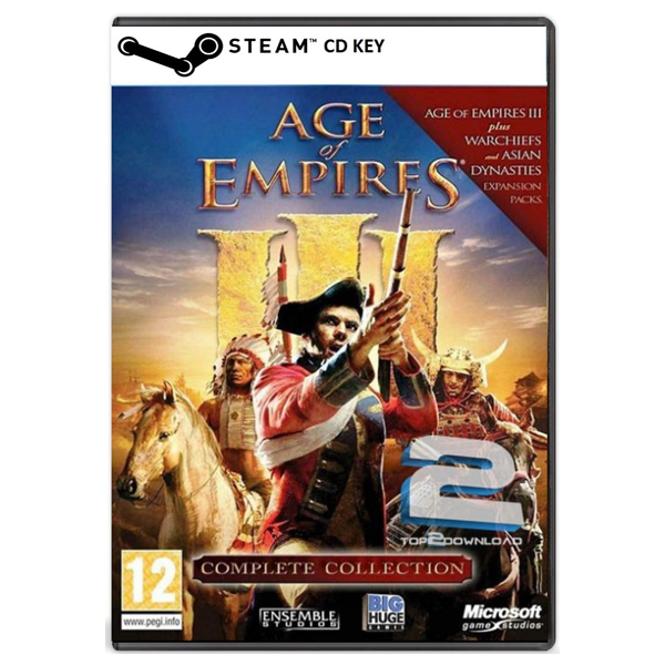 Age of Empires 3 Complete Collection (PC) CD key