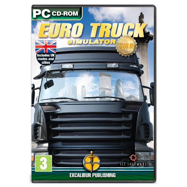 euro truck simulator gold edition pc. Black Bedroom Furniture Sets. Home Design Ideas