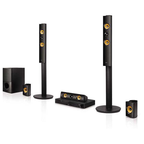 Sistem Home Cinema Smart Bluray 3D 51 LG LHB745 1200W WiFi negru