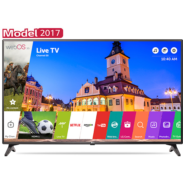 Televizor LED Smart Full HD webOS 35 108cm LG 43LJ614V