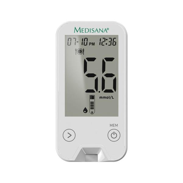 Pachet 4 Glucometre Medisana Meditouch® 2 79034 (mmol/l) + 10 Pachete Benzi Testare 79038 (2x25 Buc / Pachet)